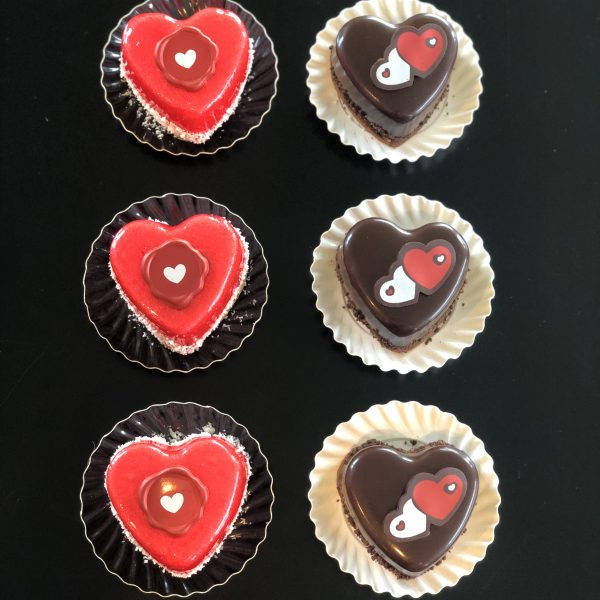 valentijnsgebakjes