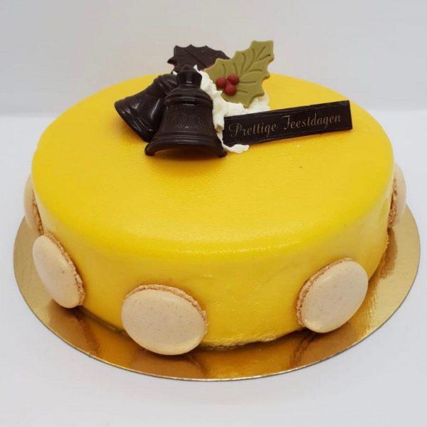 mango passie taartje kerst