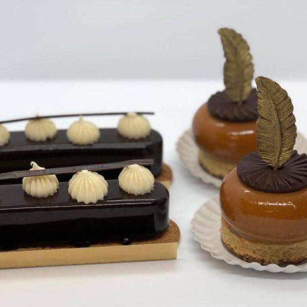 luxe choco gebakjes