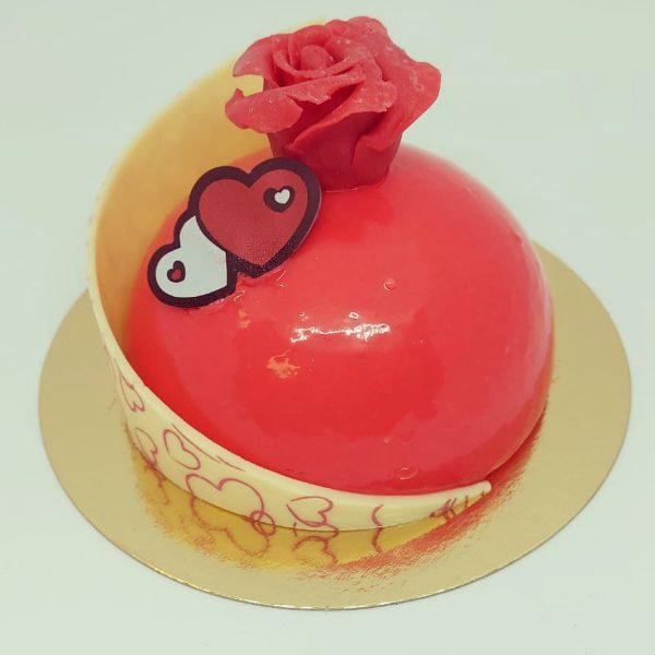 valentijnsgebakje